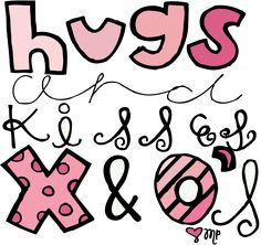 All Things Girly Illustrating: hugs and kisses Hug Quotes, Happy Quotes, Positive Quotes, As You Like, Love You, My Love, Hug Emoticon, Morning Hugs, My Husband Quotes