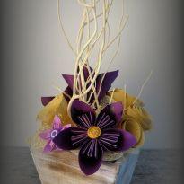 art-floral-composition-florale-bois-centre-de-table-noël-fleuriste-fleur-papier-kusumada-kusudama-origami-31emotions