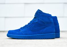 """#sneakers #news  The Air Jordan 1 Retro High """"Blue Suede"""" Is Hitting Stores Again This Saturday"""