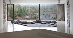 This Home's Special Lounge Area Is Perfect For Reading