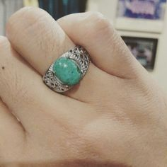Chrysocolla chalcedony A.k.a Bacan doko Blueishgreen