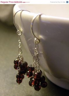 HOLIDAY SALE Sparks       Red Garnet by ScorpionMoonDesigns, $23.80