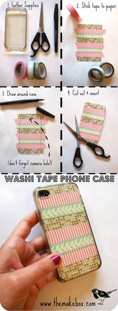 Washi Tape case iphone ;)