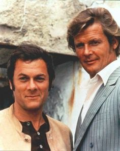 The Persuaders - Attenti a quei due - Minden leben ket kanal - Roger Moor and Tony Curtis