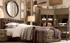 Love this room...trunk is  awesome!