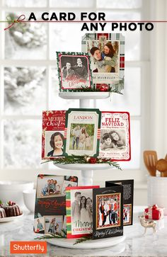 The holidays are a time that bring people together. Create magical memories and capture unique moments with Shutterfly's creative photo cards. Pin these ideas now and then share your family's story and look through over 857 customizable holiday cards that will spread holiday cheer!