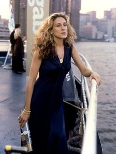 Sarah Jessica Parker, Sex and the City | Always a classic choice for a New York City girl: simple black.