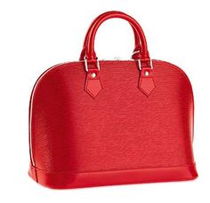 Louis Vuitton - now that is a red purse