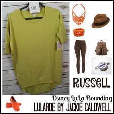 Up Bounding. Russell! #lularoebyjackiecaldwell #lularoe #lularoeirma #disneybounding #disneylulabounding #up