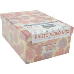 Pioneer 412Inchby8Inchby1112Inch Photo Storage Box Assorted Designs -- Click image for more details. (Note:Amazon affiliate link)