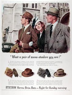 1947 Stetson Hats
