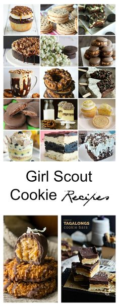 Cookie Recipes| Here are 25 Girl Scout Cookie Recipes from around the web that are some of my favorites. www.theidearoom.net