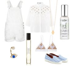 Summer Cravings | White: http://www.styleshiver.com/summer-cravings/ #Byredo #Caudalie