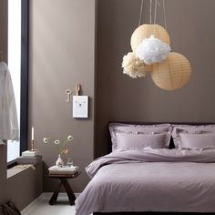 Taupe walls for blissful slumber