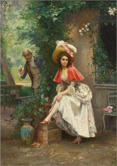 Jules Girardet (french, 1856-1938)