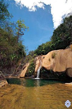 Cascada Chicalá en Payandé, Tolima,