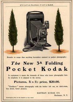 Kodak – The New 3A Folding Pocket Kodak (1903)