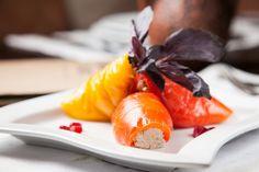 Перец с орехами - пошаговый рецепт с фото: Яркая, вкусная и полезная закуска. - Леди Mail.Ru