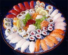 Mmmm el shusi Japon el mejor su comida mas sana mm m'ha encanta