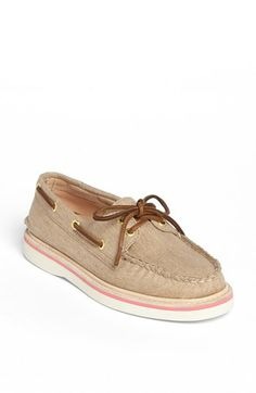 size 8.5 sand canvas - Sperry Top-Sider® 'Grayson' Canvas Boat Shoe available at #Nordstrom