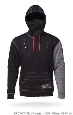 Exclusive Winter Soldier Hoodie - I need this Avengers, Nerd Fashion, Fashion Wear, Marvel Clothes, Winter Soldier, Looks Cool, Chris Hemsworth, Cool Outfits, Sweatshirts