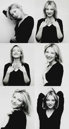 """Roger Ebert, """"Years from now, when cinephiles are asked to name the movies' golden age, they'll say it was when Cate Blanchett was in them.""""."""