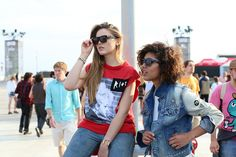 Kristina Bazan & Chrisina Caradona on www.troprouge.com