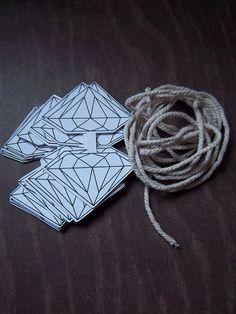 diamond garland kit Timantteja äidille :)