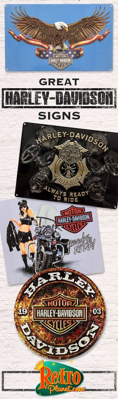 Harley Davidson Decor, Signs, Barware, accessories, and more!   http://www.retroplanet.com/PROD/30080.html