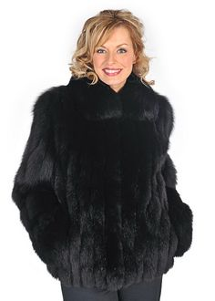 Black Fur Coats For Women