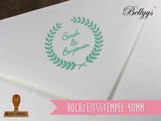 Hochzeit Stempel von Bellyys - Handgefertigte Liebe - Bestseller - Design Unikate - Genähtes und mehr...  Für klein und gross! auf DaWanda.com