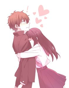 Manga Couple This is what happens when you satisfy Chitanda\'s curiosity xD Anime = Hyouka - Couple Amour Anime, Couple Anime Manga, Anime Couples Drawings, Anime Love Couple, Anime Couples Manga, Manga Anime, Anime Couples Hugging, Art Anime Fille, Anime Art Girl