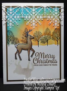 Colorful Christmas – Stampin' Up! Card