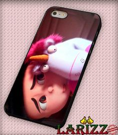 "despicable me 2 unicorn for iPhone 4/4s, iPhone 5/5S/5C/6/6 , Samsung S3/S4/S5 Case ""005"""