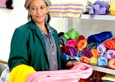Meet Mehari - because of your purchase, she is ABLE to send her 2 children to school. | livefashionABLE.com