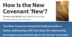 They follow the Lamb wherever He goes: The New Covenant, Does It Abolish God's Law? - How...