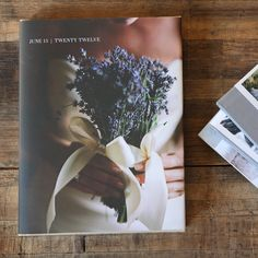 I do, darlin' - our take on the wedding coffee table book. Featured here the 150 page hardcover book available at $139 at www.artifactuprising.com
