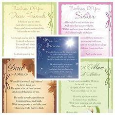 Graveside Bereavement Memorial Cards (b) VARIETY You Choose in Home, Furniture & DIY, Celebrations & Occasions, Memorials & Funerals In Memory Of Dad, Memory Verse, In Loving Memory, Funeral, Rainbow Bridge Poem, Script, Happy Birthday Brother, Sister Birthday, Memorial Cards