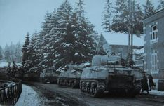 Polish 1st Armoured Division in Normandy in 1944.