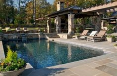 Pool/outdoor kitchen oasis