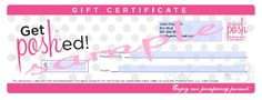 Don't know what to get the Mom in your life?  How about a gift certificate for some Pampering by Perfectly Posh!!!