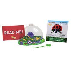 The Grouchy Ladybug Growing Kit with Live Larvae Grouchy Ladybug, Baby Ladybug, Live Ladybugs, School Closures, Eric Carle, Kit, Lady Bugs, Image