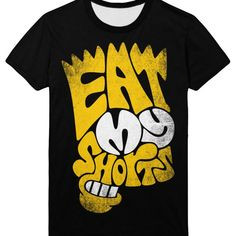 Eat my shorts Bart Simpsons Tee Shirt Apparel | IdolStore