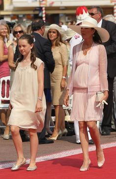 Zimbio-Monaco Royal Wedding 2011- The Religious Wedding Ceremony:  Princess Alexandra of Hanover and Princess Caroline of Monaco