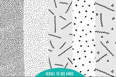 Aesthetic Patterns by Stella's Graphic Supply on @creativemarket