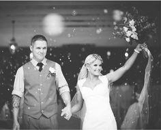 Real wedding: Tina and Dale