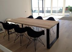 Crea tu mueble a medida con madera y hierro Mesas, bancos, sillas, estanterías, butacas, alfombras, taburetes, consolas, barras.. Soluciones a medida.