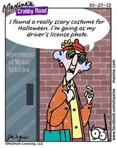 * Maxine scary costume - sz