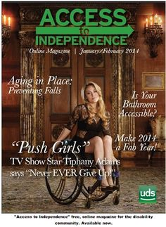 Access to Independence #Disability #Magazine Cover Picture http://www.disabled-world.com/disability/publications/mag.php