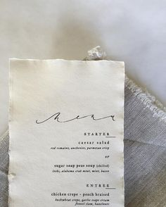 ATL based calligrapher & designer :: Owner of Brown Linen Design, a bespoke paperie.